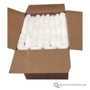 Quantum-Industrial-3-in.-x-4-White-Absorbent-Sock-40-Case