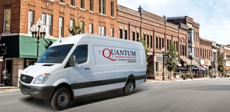 Quantum-Industrial-Supply-Flint-MI-truck-city-street